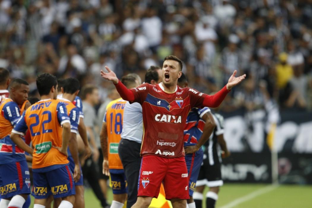 O goleiro Marcelo Boeck é um dos líderes da defesa do Fortaleza
