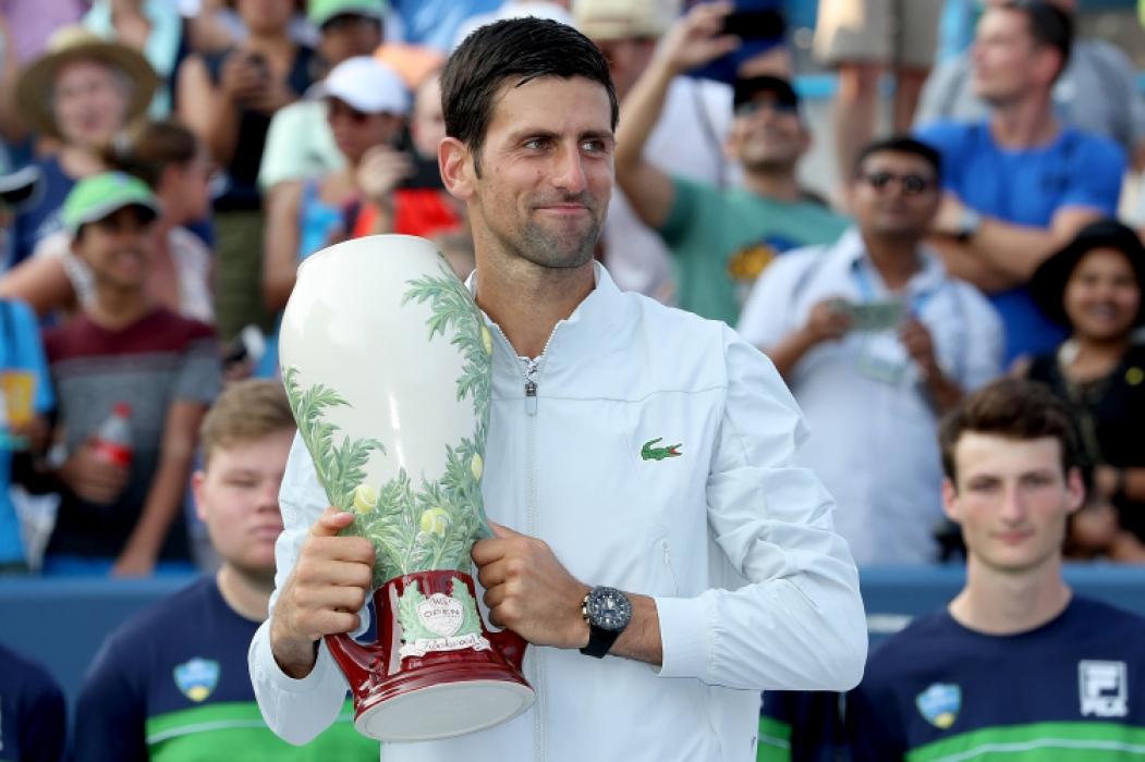 Novak Djokovic é o atual número 1 do mundo no tênis