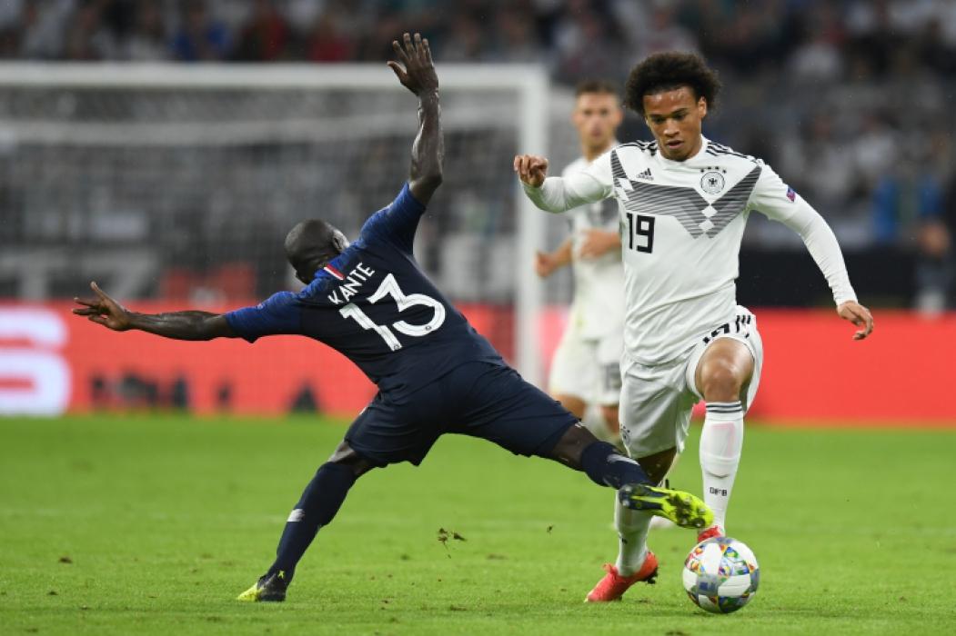 Alemanha x França na Liga das Nações