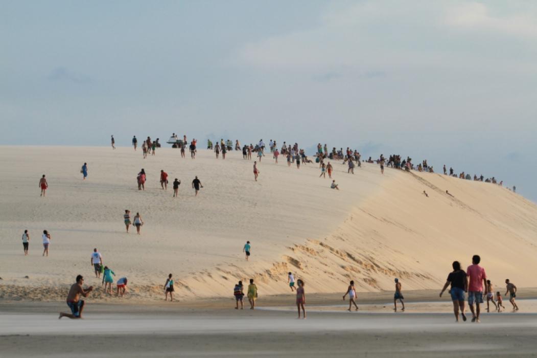JERICOACOARA tem recebido média de 30 mil turistas por fim de semana