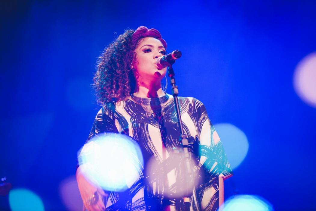 A cantora Lorena Nunes participou do projeto