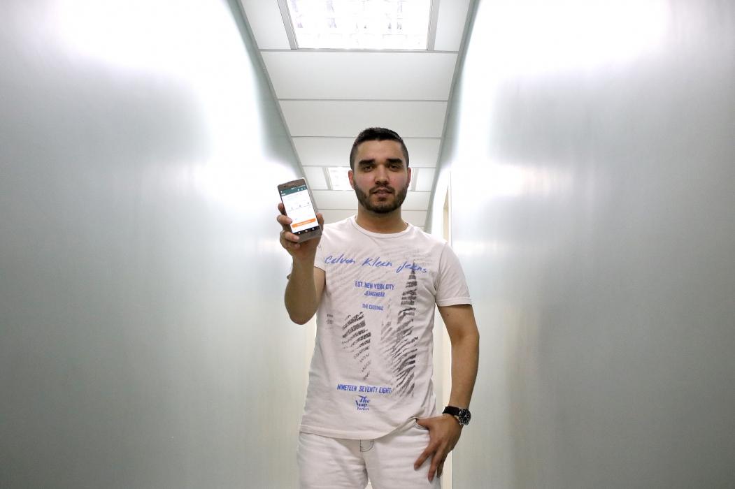 FORTALEZA, CE, BRASIL, 04-10-2018: Wesley Oliveira, 25 usuario do aplicativo. Tecnologia em saude, plataforma digital da Unimed.   (Foto: Fabio Lima/O POVO)