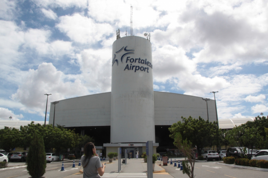 ALTA nos preços das passagens no Ceará. Na foto, o Aeroporto de Fortaleza