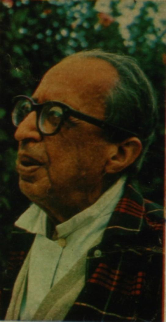 Na foto: Manuel Bandeira.Foto: Divulgação, em 09/11/1986