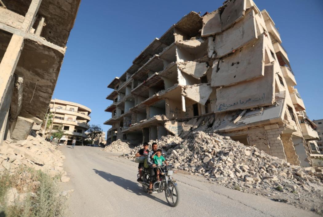 IMPACTO da mudança climática é notável em países em conflito, como a Síria