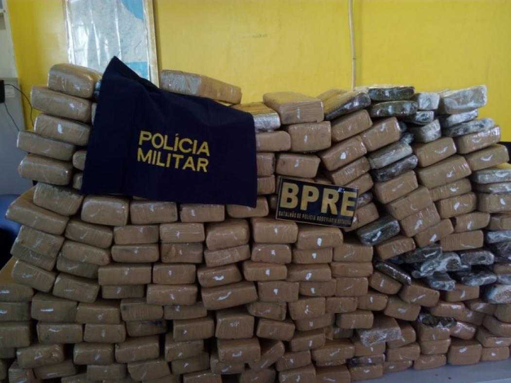 A droga saiu de Brasília e iria para o interior da Paraíba