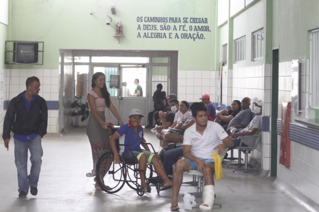 FORTALEZA, CE, BRASIL, 15-10-2018: Prefeitura de Fortaleza inicia reforma no Centro Cirúrgico do Frotinha Antônio Bezerra  (Foto: Evilázio Bezerra)