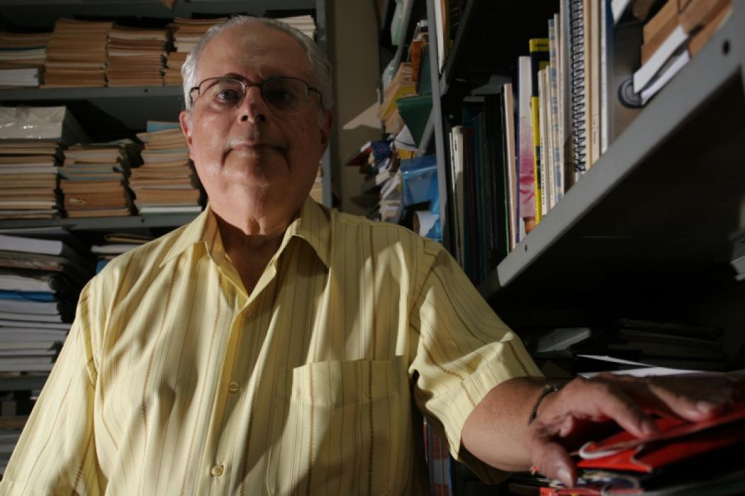 Entrevista com o Escritor Horácio Dídimo Foto: Alex Costa, em 06/03/2006