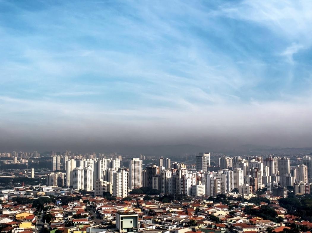 A poluição das grandes cidades causa prejuízo para a saúde, principalmente das crianças