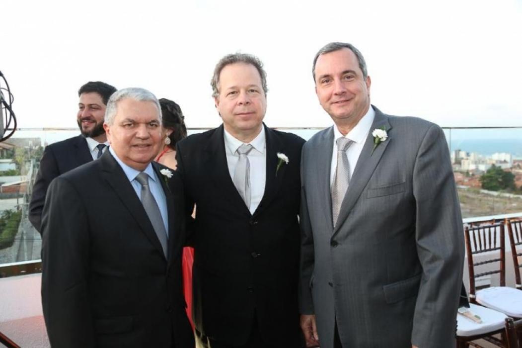 Ricardo Mendes, Francisco Ventura e Kalil Otoch (Foto: divulgação)