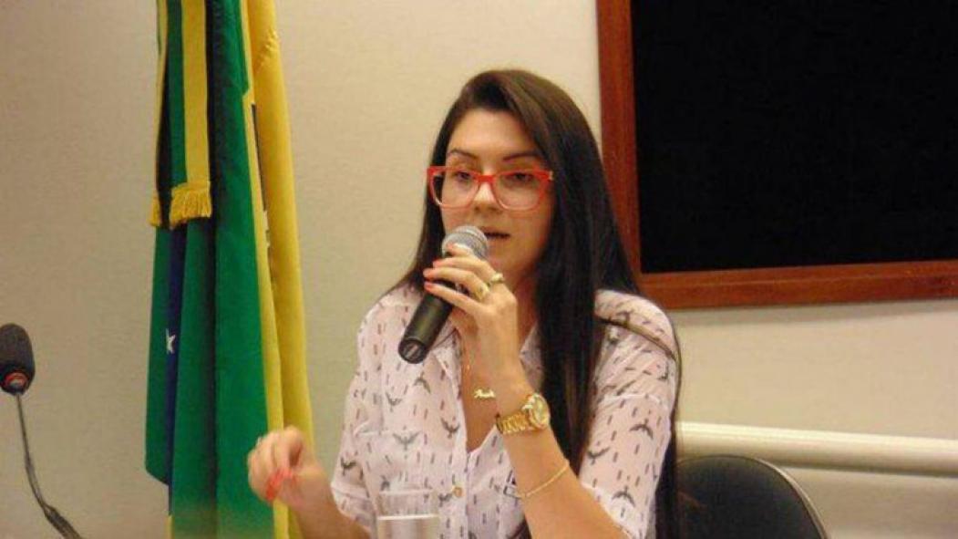 ?ANA CAROLINE Campagnolo, deputada estadual eleita pelo PSL, fez o pedido logo após o fim do segundo turno