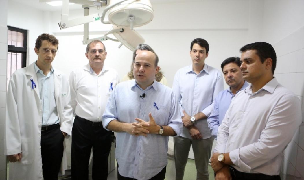 ?NOVO CASH , inaugurado pelo prefeito,  funciona agora no Centro de Saúde Meireles