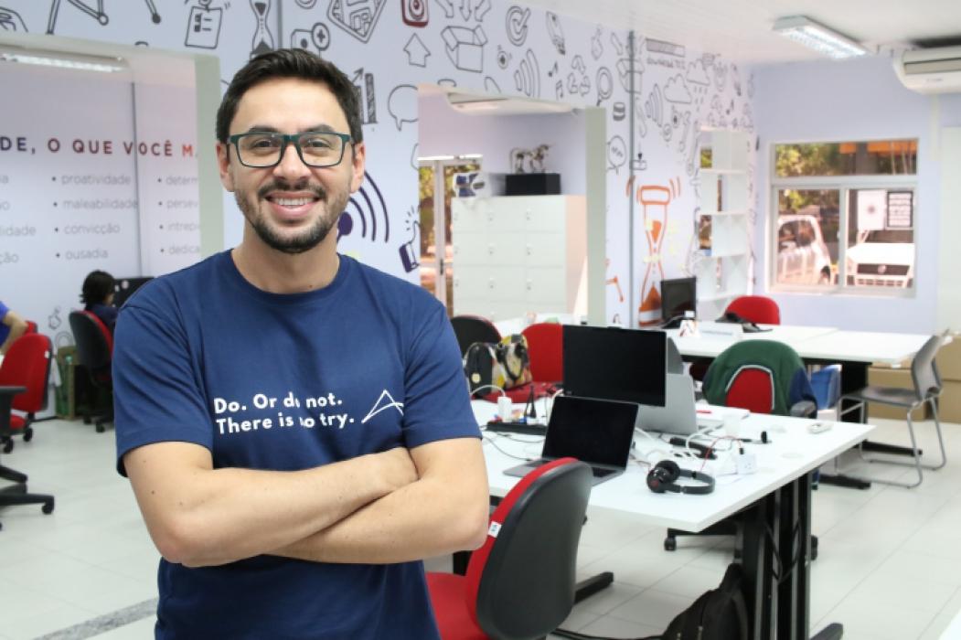 MARLOS Távora, fundador da Chatbot Maker, aplicativo que ajuda no marketing das empresas