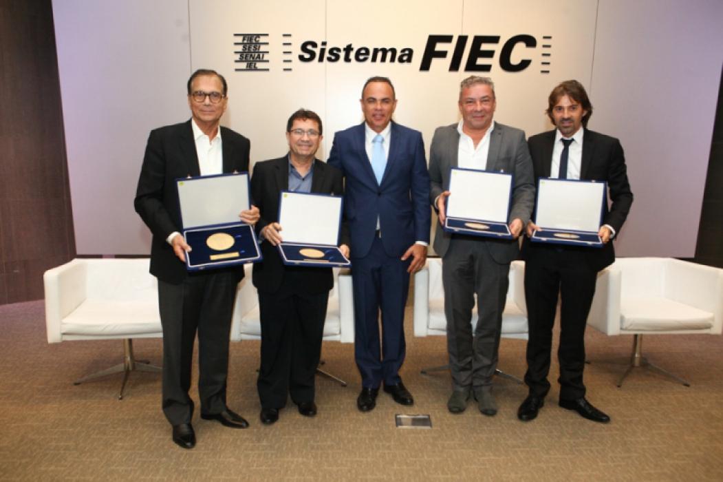 Beto Studart, Alci Porto, Elano Guilherme, Cláudio Silveira e Rodrigo Lima
