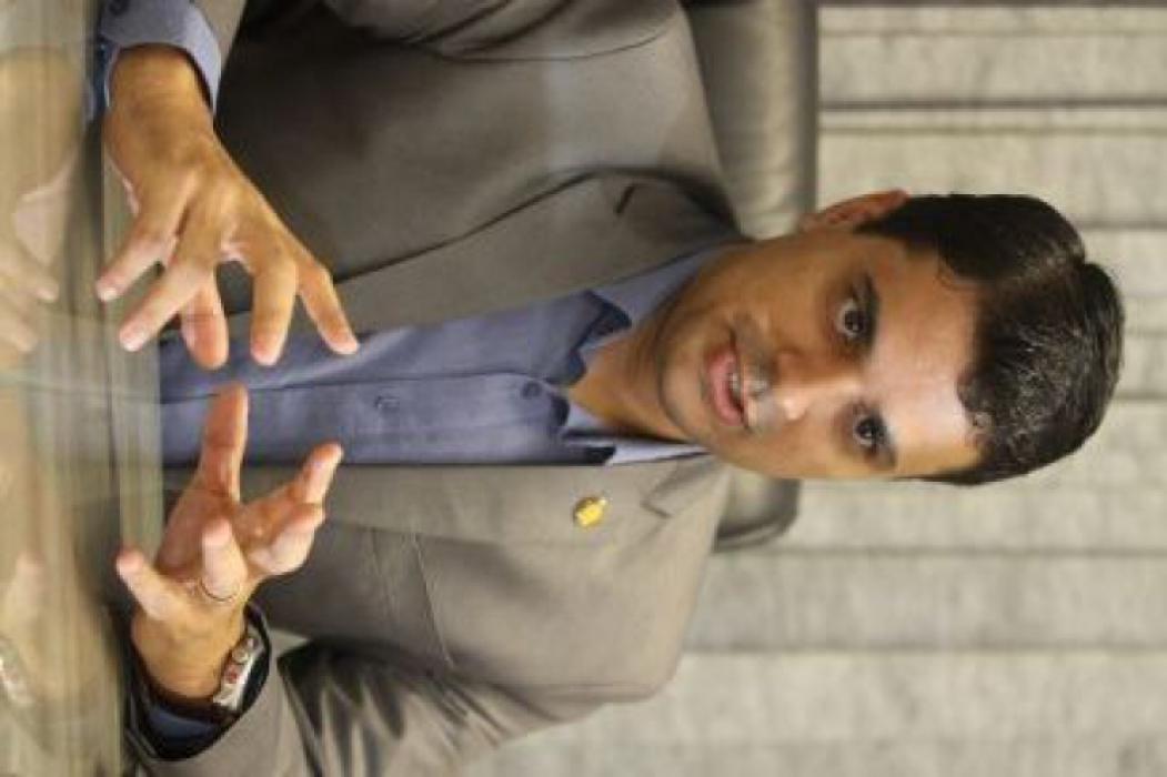 FORTALEZA, CE, BRASIL, 06-01-2017: Entrevista com o Vereador Gardel Rolim(PPL). (Foto: Evilázio Bezerra/O POVO)