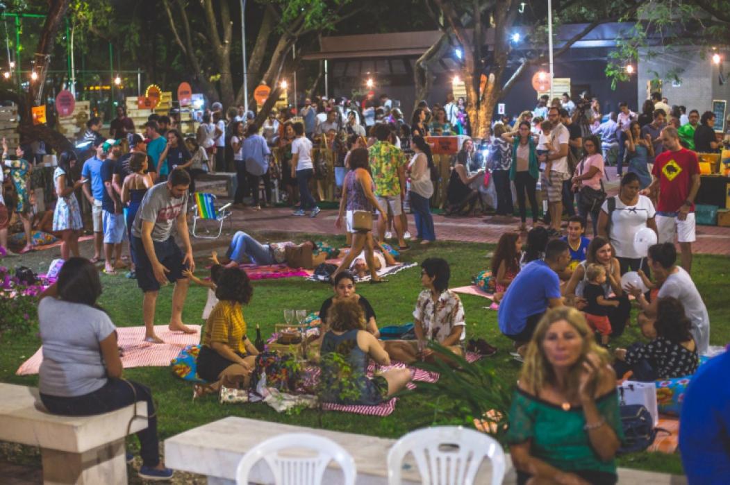 Auê Feira será neste sábado e domingo na Praça das Flores, na Aldeota