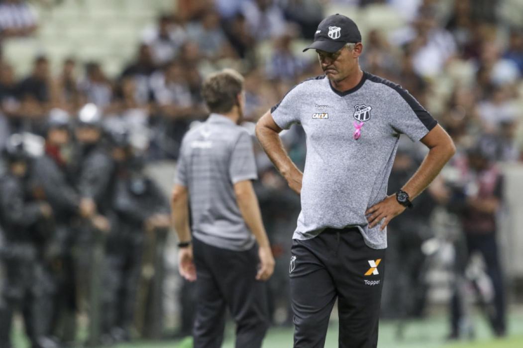 Fórmula de disputa do Nordestão incomoda treinador do Ceará. Foto: Mateus Dantas