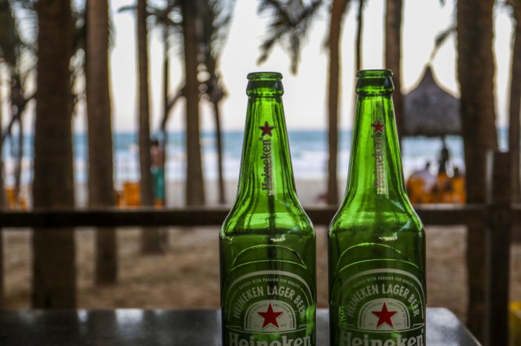 A CERVEJA Heineken tem boa posição no mercado brasileiro