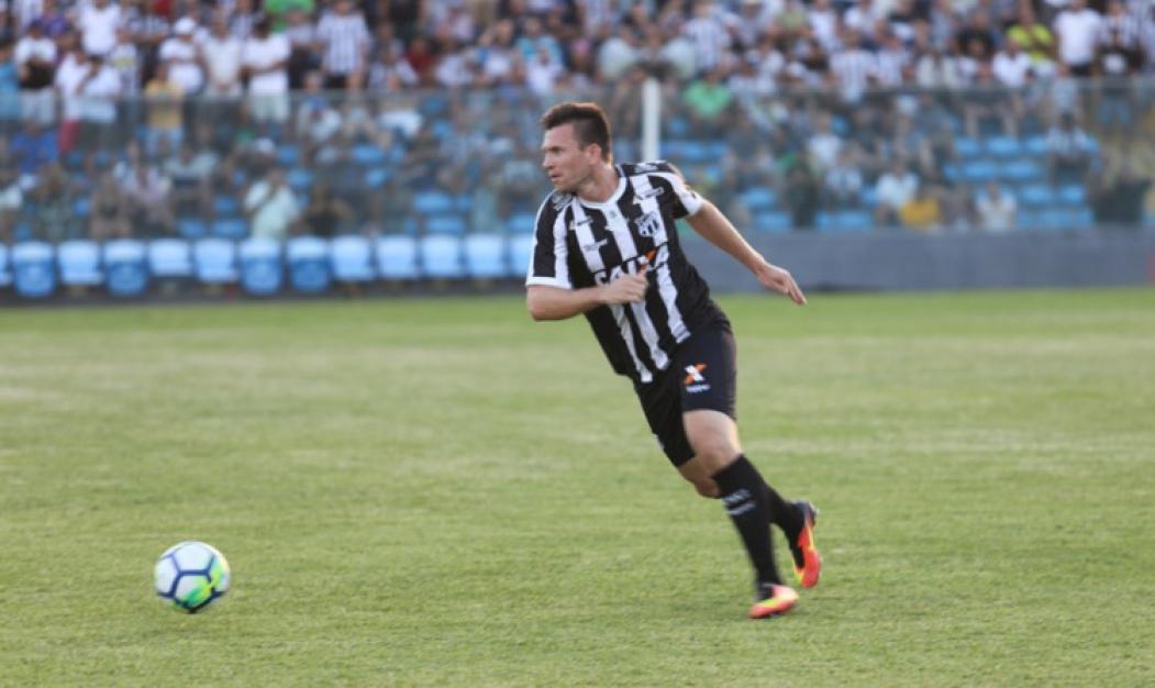 Eduardo Brock tem contrato com o Ceará até o fim de 2020  (Foto: Cearasc.com/Divulgação)