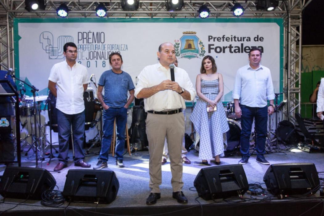 Iraguassu Filho, Adail Junior, Roberto Cláudio, Carol Bezerra e Samuel Dias