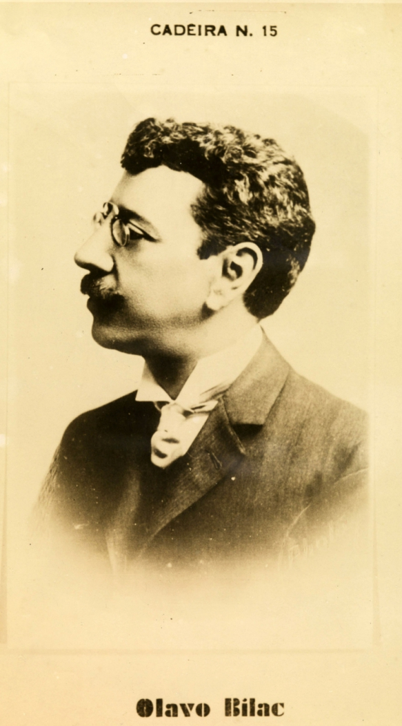 OLAVO Bilac é considerado o maior poeta parnasiano do Brasil
