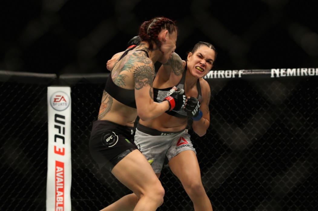 A vitória arrasadora sobre Cris Cyborg foi um marco na carreira da Amanda