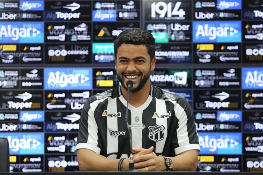 Felipe veio com credenciais para ser o principal armador do Ceará na temporada