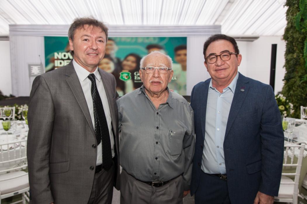 Maurício Filizola, Ubiratan Aguiar e Manuel Cardoso Linhares