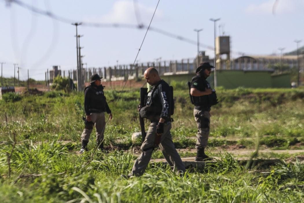 Rebelião no Complexo Penitenciário Estadual de Itaitinga, em 3 de janeiro de 2019
