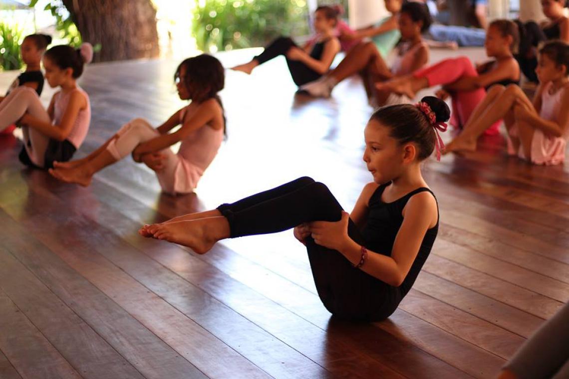 Registros de apresentações do Curso de Formação Básica em Dança, da Vila das Artes, estão disponíveis no Youtube