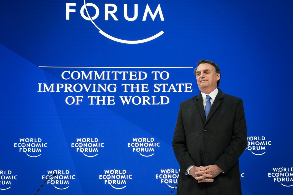 JAIR BOLSONARO no Fórum Econômico Mundial