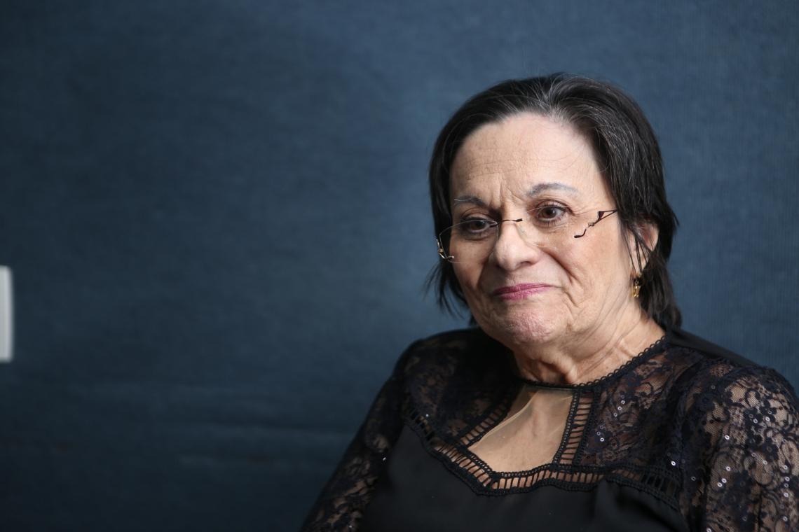 Maria da Penha, fundadora do Instituto Maria da Penha e inspiradora da Lei com seu nome