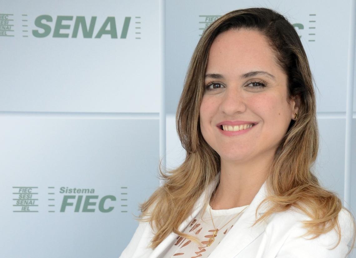 Juliana Guimarães Superintendente da Federação das Indústrias do Estado do Ceará (Fiec)