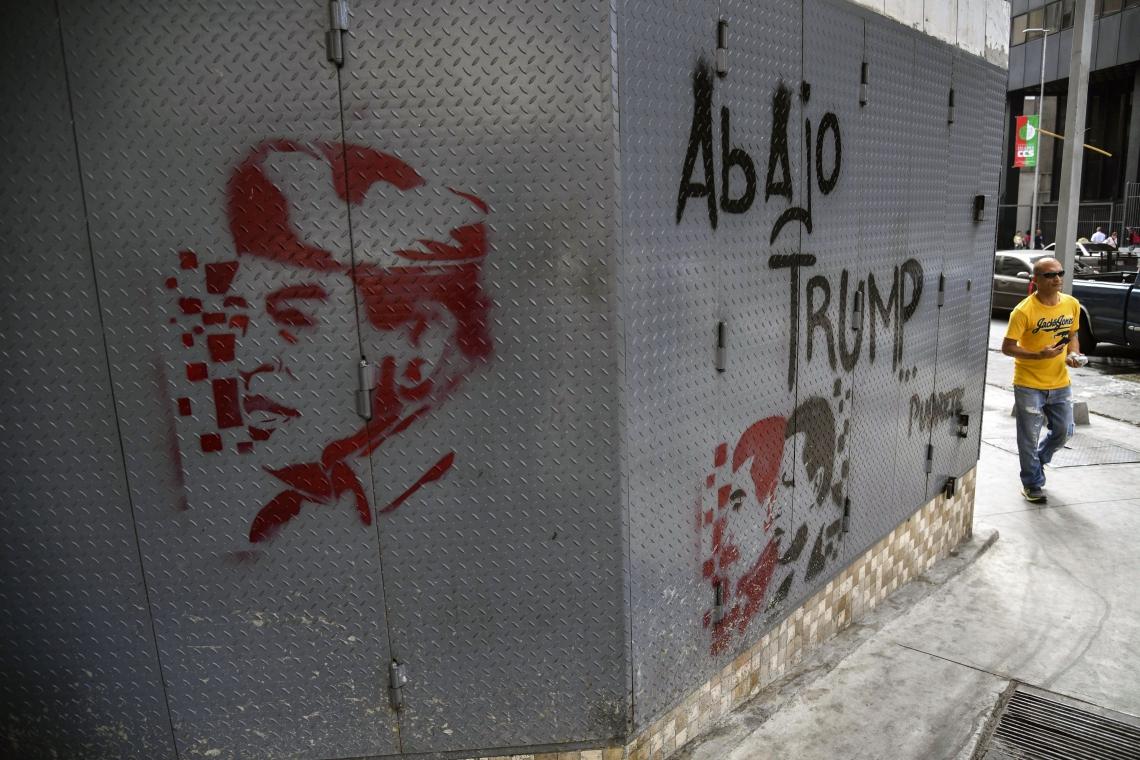 Protestos foram realizados em Caracas
