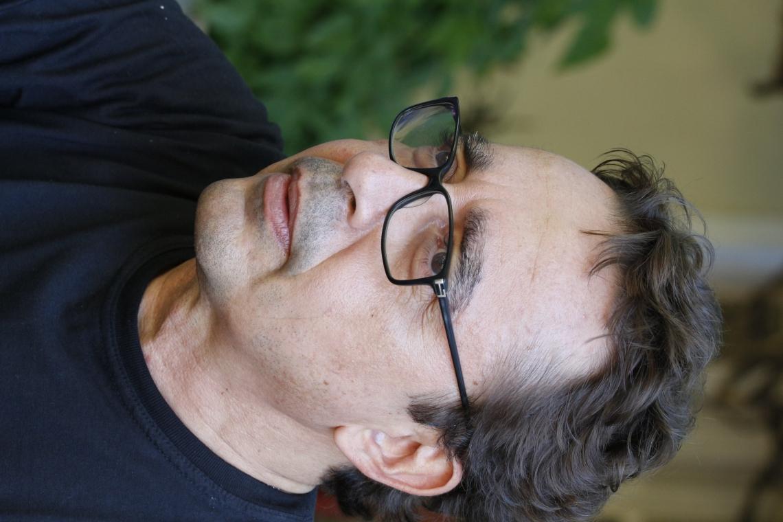 FORTALEZA,CE,BRASIL, 17.07.2013: Marcus Dias, compositor e músico. Entrevista sobre a produção do show