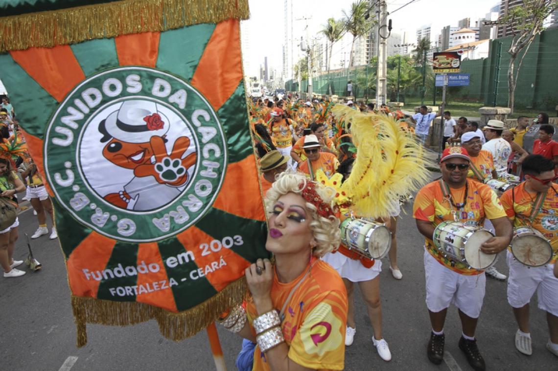 Carnaval em Fortaleza. (Foto: Julio Caesar/O POVO)