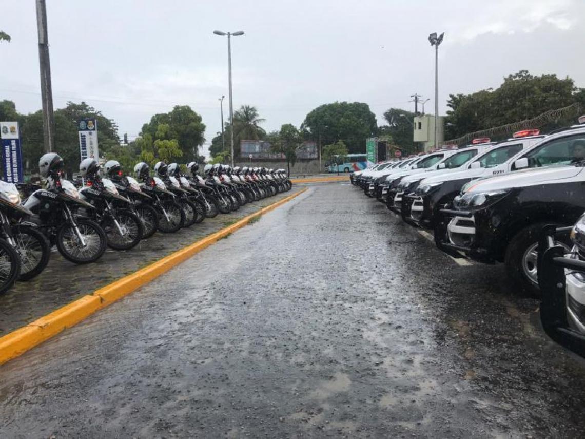 Investimento nas viaturas foi de quase R$ 8 milhões, segundo o governador Camilo Santana