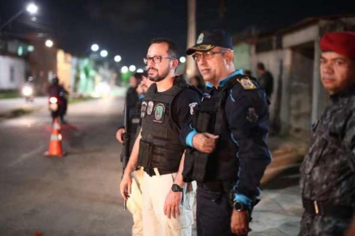 Cerca de quatro mil agentes de Segurança participaram da ação. (Foto: Divulgação/SSPDS)
