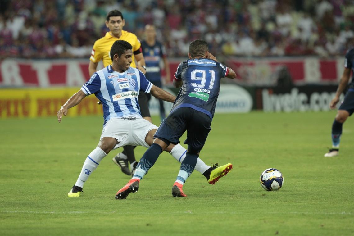 FORTALEZA tropeçou no rival CSA contra quem decidiu a Série C 2017 e que foi vice da Série B 2018