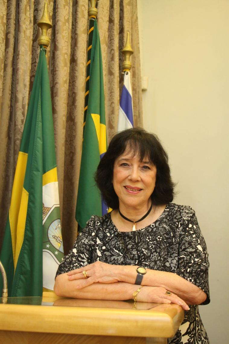 FORTALEZA, CE, BRASIL, 28-01-2019: Angela Gutierrez, escritora, assume a Academia Cearense  de Letras. (Foto: Mauri Melo/O POVO).