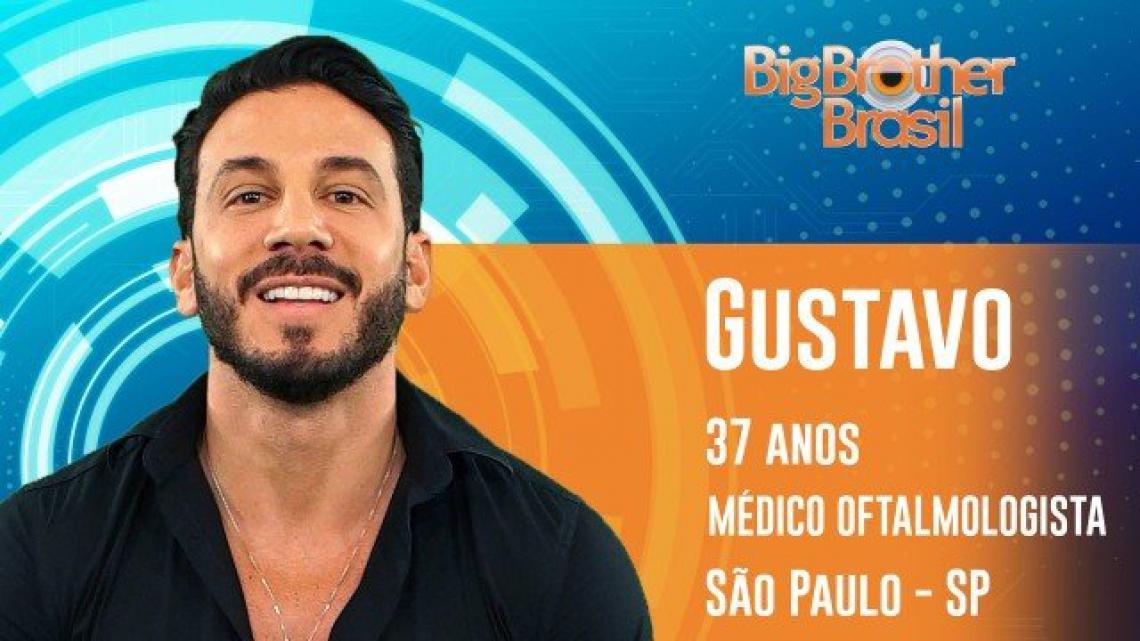 Gustavo é o segundo eliminado do BBB19. (Foto: Reprodução/Gshow)