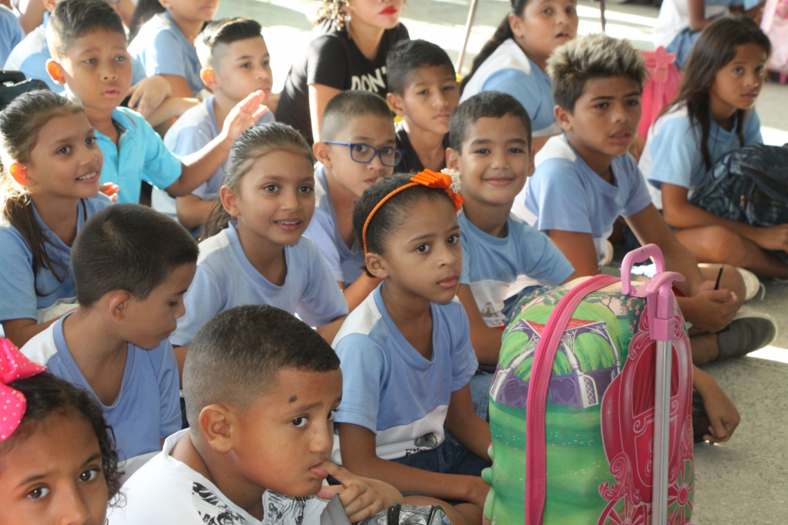 ANO LETIVO municipal foi aberto ontem, em escola no Monte Castelo