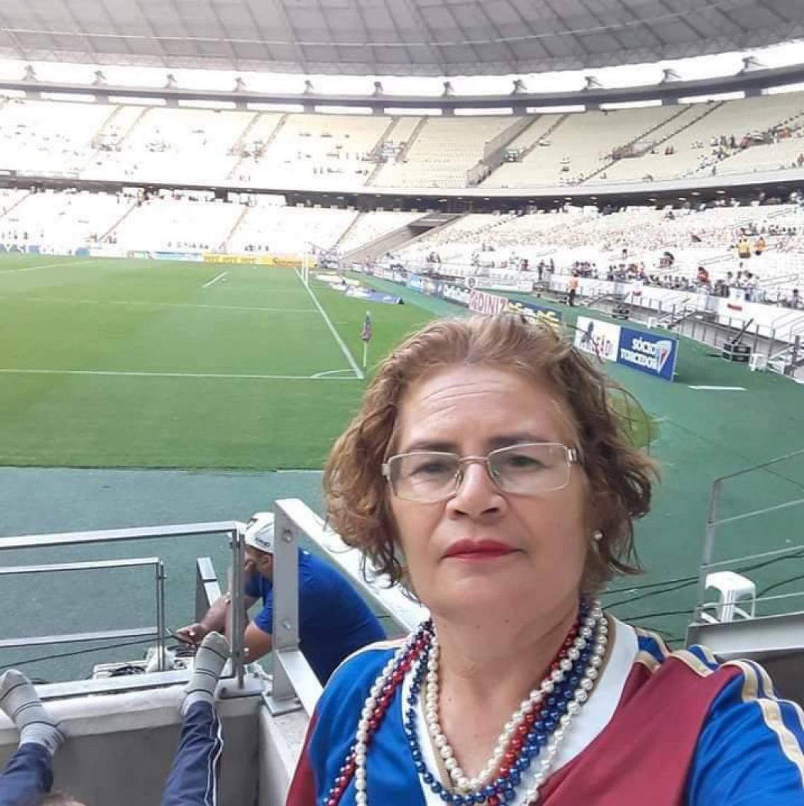 MARA Santos era torcedora e ajudava o Fortaleza em ações e promoções