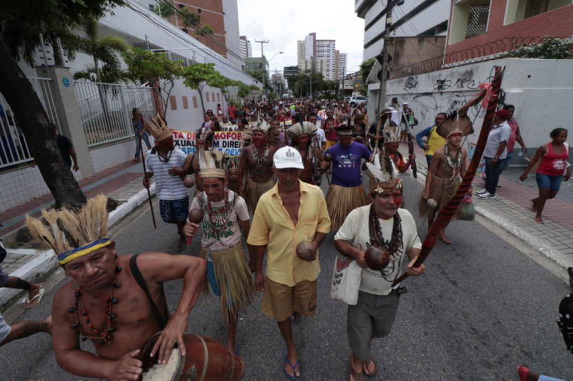 Cerca de duas mil pessoas participaram do movimento