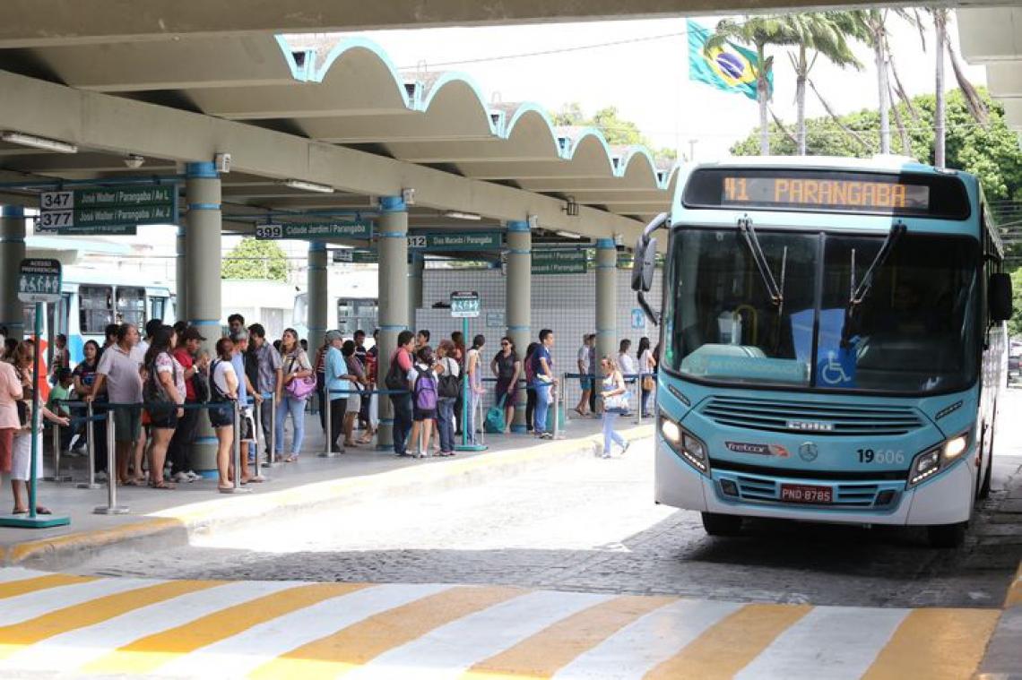 O trajeto da nova linha 358 - Lagoa/Feira da Parangaba inicia no terminal da Parangaba e vai direto para a tradicional feira