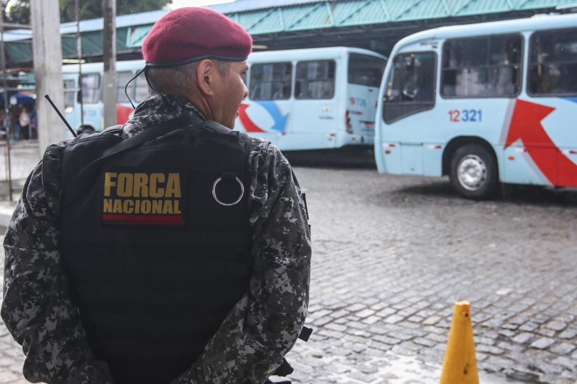 AGENTES da Força Nacional começaram a atuar no Ceará em 5 de janeiro