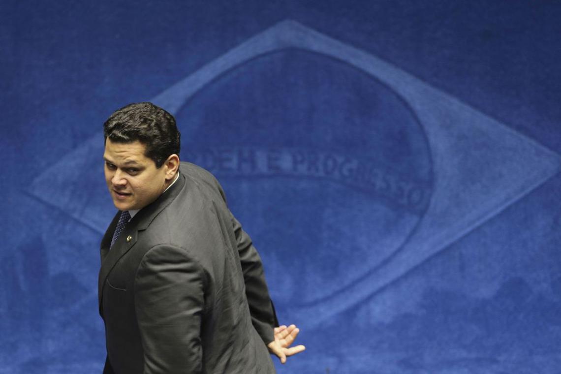 Davi Alcolumbre foi eleito neste sábado (Foto: Fabio Rodrigues Pozzebom/Agência Brasil)