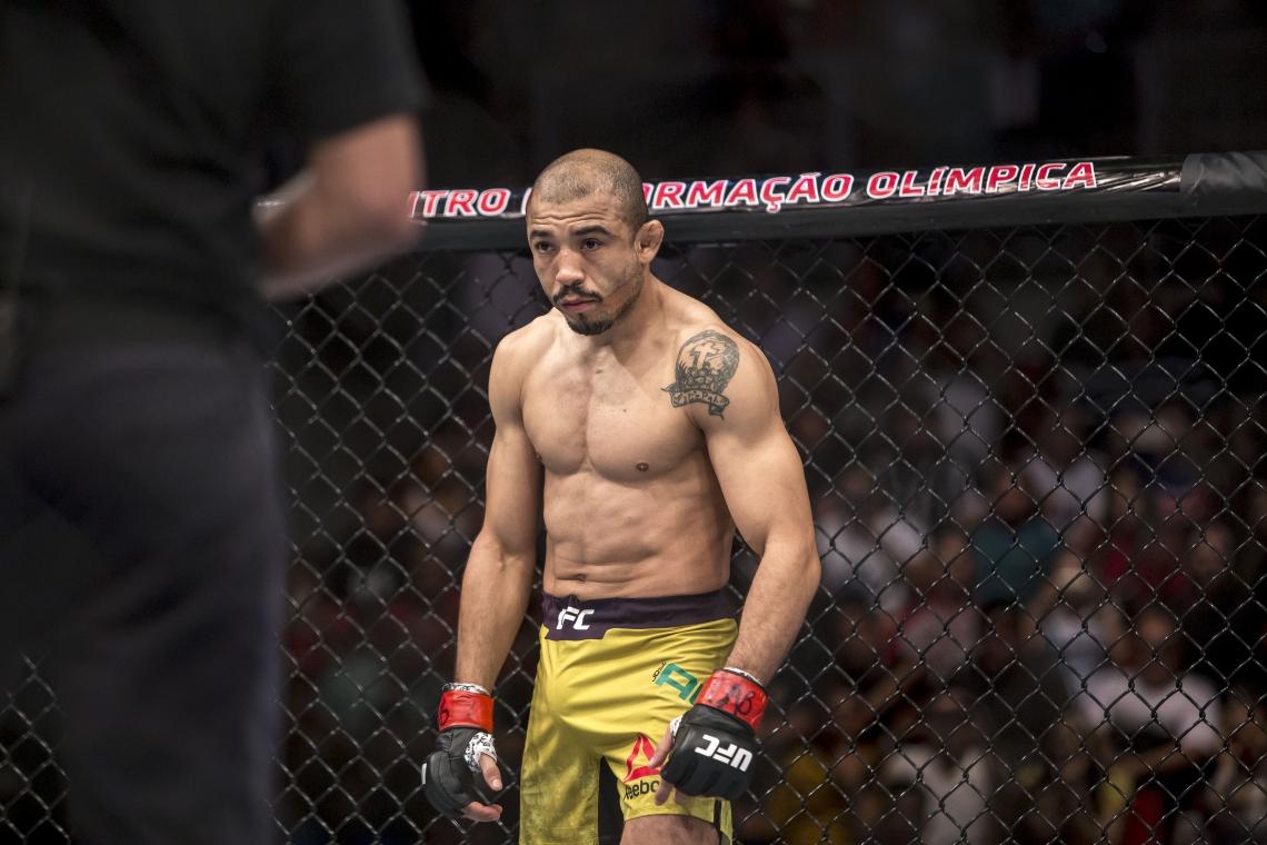 ALDO tem um cartal de 32 lutas, com 28 vitórias na carreira. Ele foi campeão dos pesos-penas do UFC entre 2011 e 2015