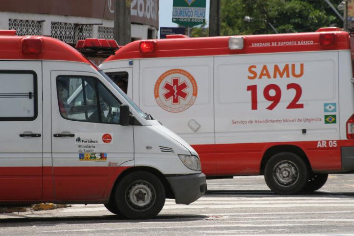 Um dos serviços mais afetados pelas chamadas indevidas, o Serviço de Atendimento Móvel de Urgência (Samu) recebe entre 12 e 16 mil trotes. (Foto: Mauri Melo / O POVO)