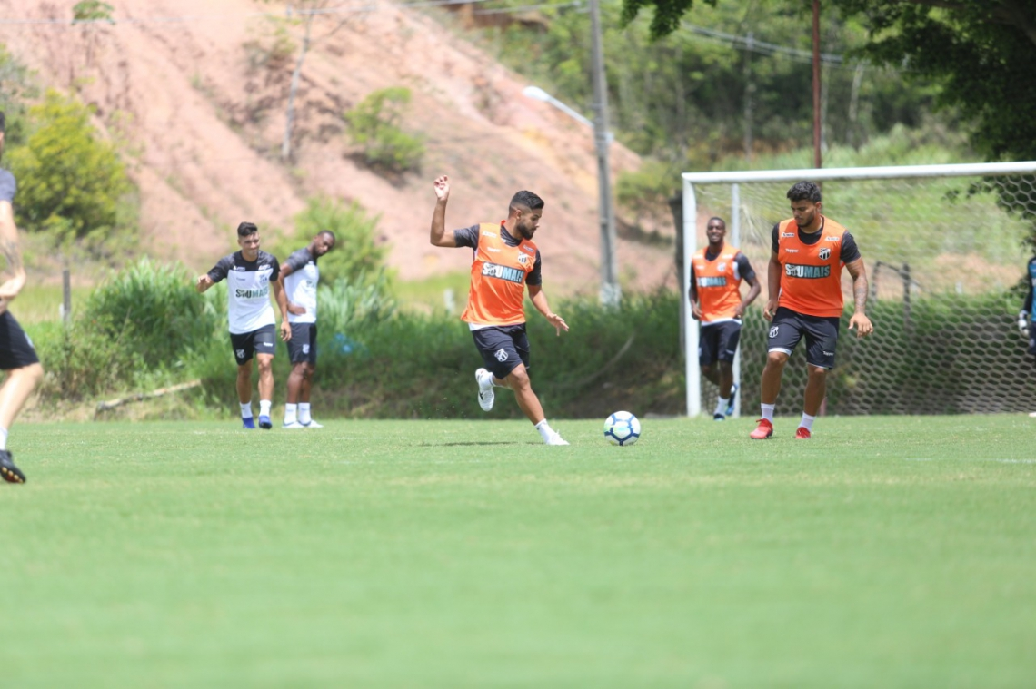 Ceará fez o último treino da preparação em Recife